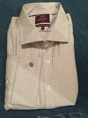 "*M /& S* COLLEZIONE LUXURY TAILORED SHIRT XLARGE Collar 17.5 18/"" BNWT rrp £45"