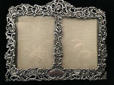 Antique 1890 Tiffany & Co London Sterling Silver William Comyns Double Frame