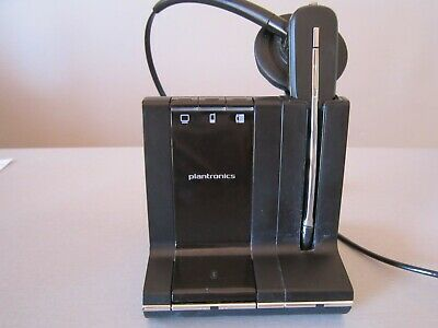 PLANTRONICS W02A Bluetooth Wireless Office Headset without power supply