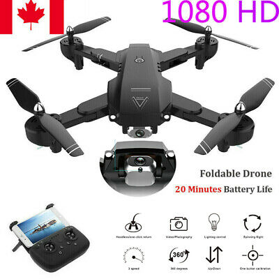 Foldable WIFI FPV RC Quadcopter Drones With 1080P HD Dual Camera Selfie Drone CA