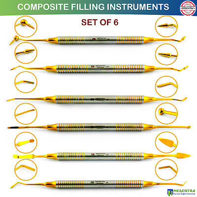 Dental Instruments Composite Anterior Posterior Scalers Spatula Restoration New