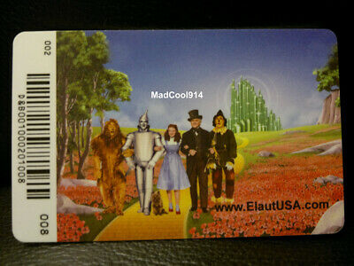 The Wizard of Oz Casts Elaut Card Arcade Coin Pusher Game Dave and Busters #8