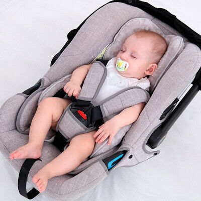 Newborn Baby Car Seat Stroller Cushion Pad Liner Mat Body Support Warm Pillow US