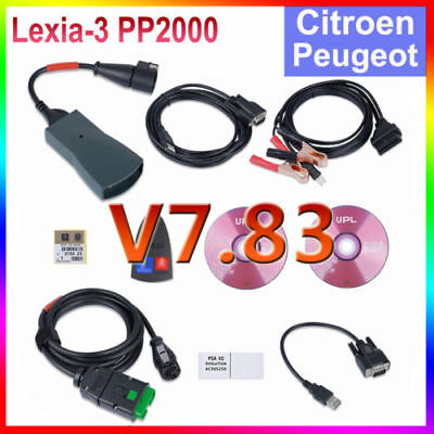 CAN Clip Pour Citroen/Peugeot Interface Diagnostique PP2000 OBD2 OBDⅡ Scanner EU