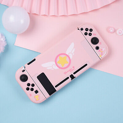 Card Captor Sakura Pink Cover For Nintend Switch NS Console Case Protector