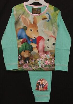 PETER RABBIT Pyjamas Girls Long-Sleeved PETER, LILY & BENJAMIN PJs  1-5 years