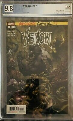 Venom #17 (2019) Absolute Carnage Tie-In PGX 9.8 WHITE PAGES