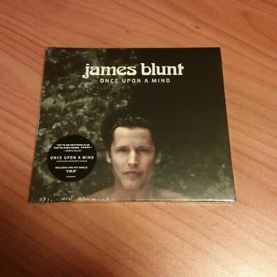 Cd James Blunt Once Upon A Mind Autografato  Sigillato Uk Exclusive 2019 Ps