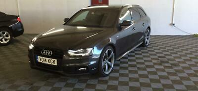 2014 Audi A4 Avant 2.0TDI ( 177ps ) S line  Black Edition