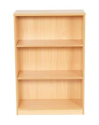 Bookcase For Home & Office - Beech / Light Oak - Various Sizes (new)