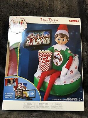 The Elf on the Shelf Claus Couture Collection Exclusive Merry Movie Night HTF **
