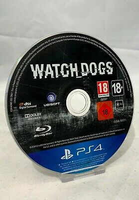 Watch Dogs - (Sony PlayStation 4 Game) - Disc Only