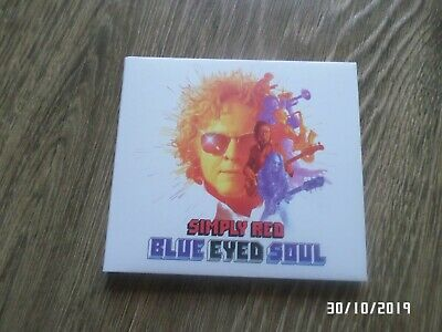 Simply Red 'Blue Eyed Soul' Signed Cd  Exclusive