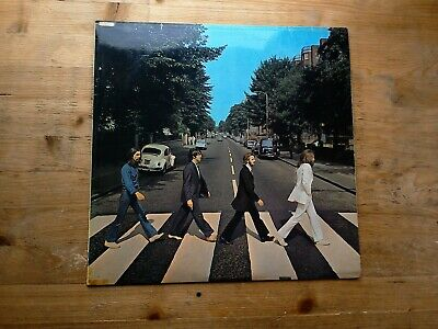 The Beatles Abbey Road -2/-1 1st Press Very Good Vinyl Record PCS 7088