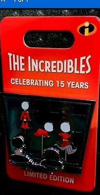Disney Incredibles 15th Anniversary Edna Mode LE Pin