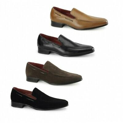 Mens Casual Loafers Half Slippers Moccasins Comfy Peas Slip On Shoes Rossellini
