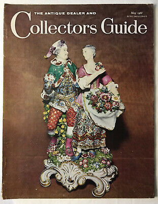 The Antique Dealer And Collectors Guide May 1968 Magazine