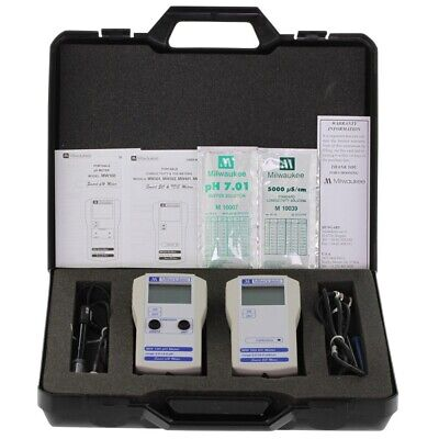 Milwaukee pH + EC case Set MW710