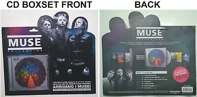 MUSE The Resistance BOX SET CD Limited Exclusive Italian Blister Edition ITA LP