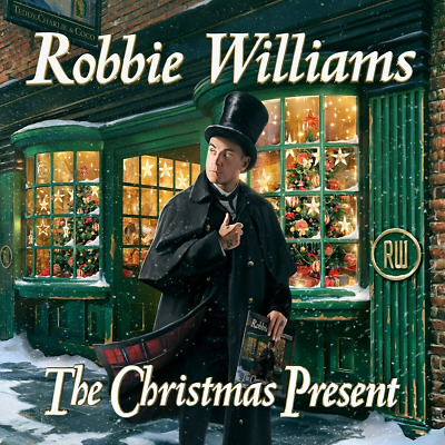 Robbie WILLIAMS The Christmas Present 2CD - Released 22/11/2019