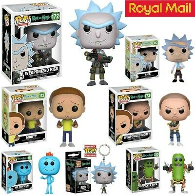 UK Limited Edition Funko Pop Rick And Morty Action Figure Toy Kids Xmas Gift