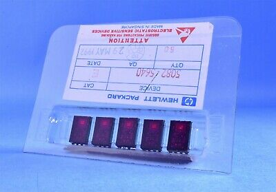 (5) HP Gen Purpose 1990-1408 Hexadecimal Indicator Display Light for Model 7585B