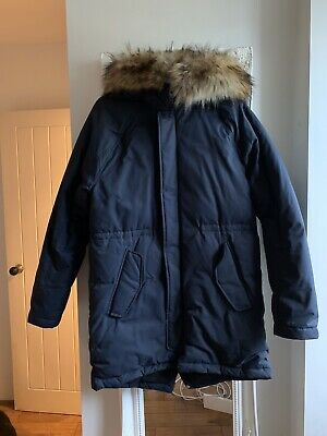 J Crew Parka Unisex Age 16 Excellant Condition Hardly Worn