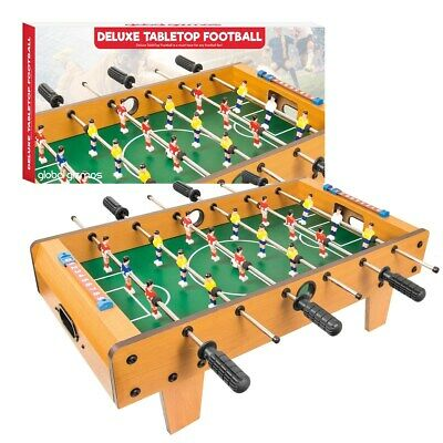 Table Top Football Foosball Players Family Game Toy Kids Play Set Xmas Gift
