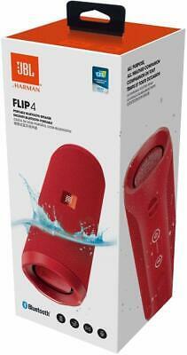 NEW JBL Flip 4 Wireless Bluetooth Stereo Speaker Portable IPX 7 Waterproof Red