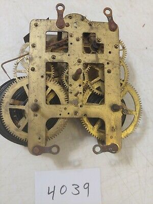 Antique Seth Thomas  Tambour Mantle Clock  Movement 89