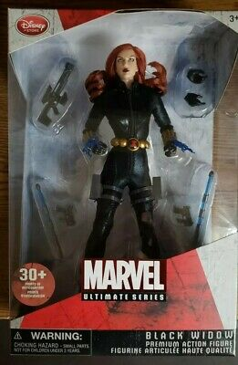 Avengers BLACK WIDOW Figure Marvel Ultimate Disney Store Exclusive Hot Toys
