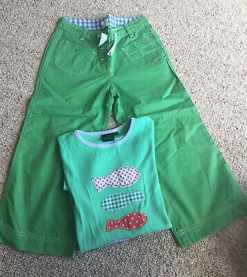 Mini boden Trousers And T Shirt Set 13 - 14 Years
