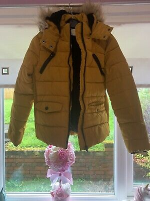Girls Age 9 Candy Couture MustArd Yellow Jacket