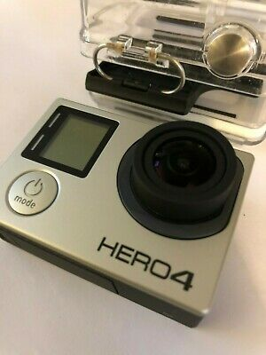 Gopro HERO 4 Black Edition 4K Action Camera HERO4 CHDHX-401 + head strap