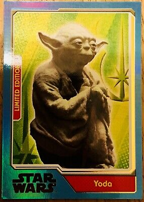 Star Wars * Topps * Limited Edition Card (Uk) * Journey To Force Awakens * Yoda