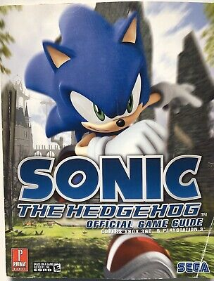 Prima SONIC THE HEDGEHOG 2006 Official Game Guide Xbox 360 & PS3 Fletcher Black