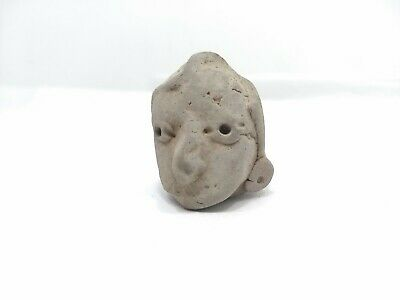 Pre Columbian Artifact - Pottery Head Figure