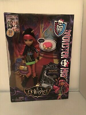 Monster High - 13 wishes - Howleen Wolf - BNIB - Rare BNIB