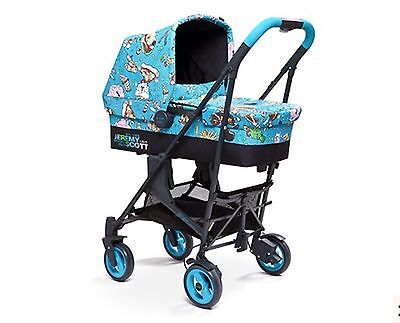 Jeremy Scott Cybex Callisto 3 in 1 STROLLER and PRAM CARRY COT baby buggy NIP