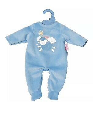 My First Baby Annabell 36Cm Blue Romper Outfit Brand New On Hanger Ages 1 Yrs+