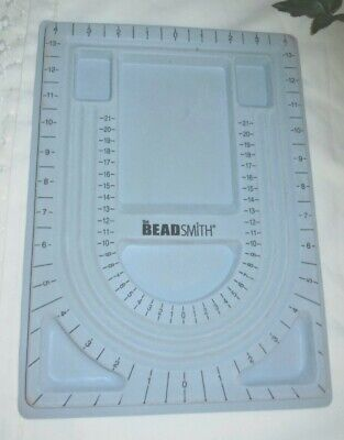 The Beadsmith Beaders Bead Board Tray For Jewelry Making