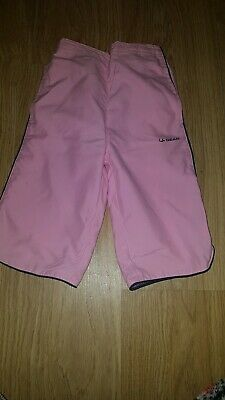 Girls La Gear Pink Light/thin trousers....age 2-3 years