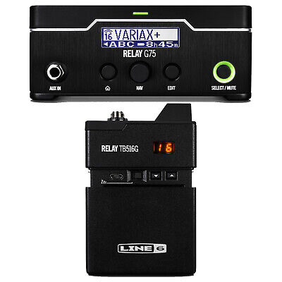 Line 6 Factory Refurbished RELAY® G75 Digital Guitar Wireless System