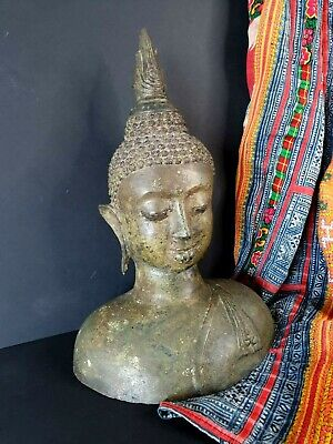 Old Bronze Cast Buddha …beautiful collection and display piece