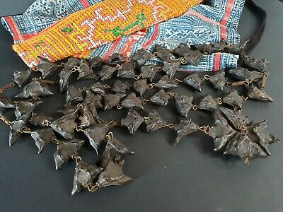 Old Bat Pod Water Caltrop Chestnut Trapa Bicornis Seed Rosary …beautiful & uniqu