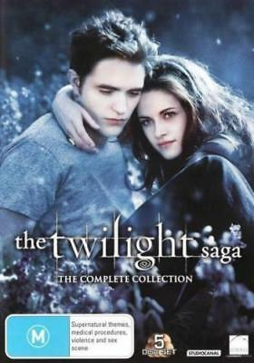 The Twilight Saga Complete Collection BRAND NEW R4 DVD
