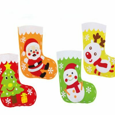 Package DIY Decoration Craft Christmas Stockings Gift Bag Sewing Accessories