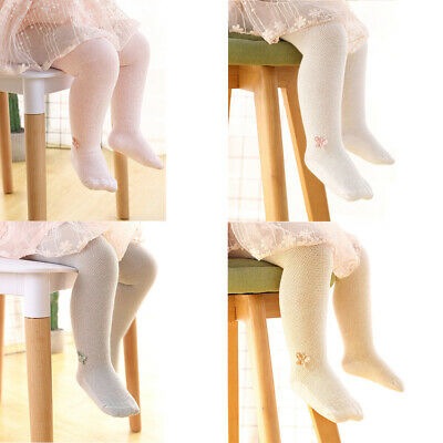 Infant Baby Children's Mesh Thin Breathable Pantyhose Girls Soft Elastic Tights