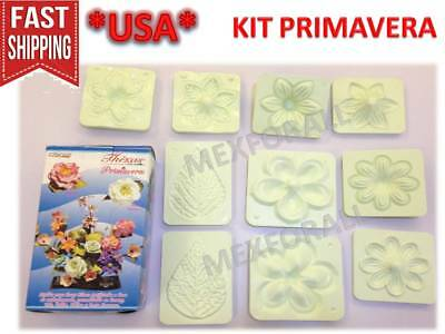 Flower Molds 3D KIT Foam Craft Moldes de Flores Foamy Eva foam MODEL PRIMAVERA