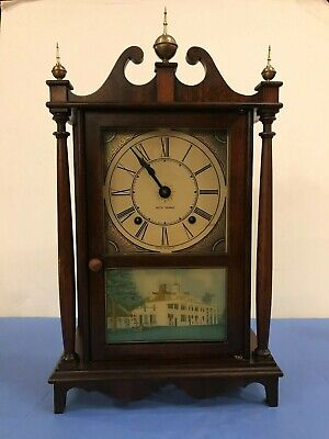 Antique Seth Thomas Mantle Clock w/ 4610 Mechanical Movement CTx# 206